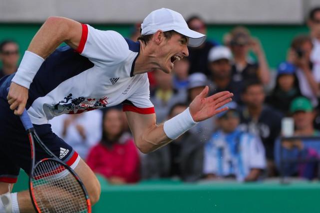 Andy Murray... (Photo Vadim Ghirda, AP)