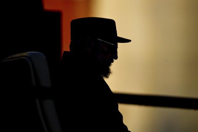 Castro en 2010, alors qu'il se préparait à... (AFP)