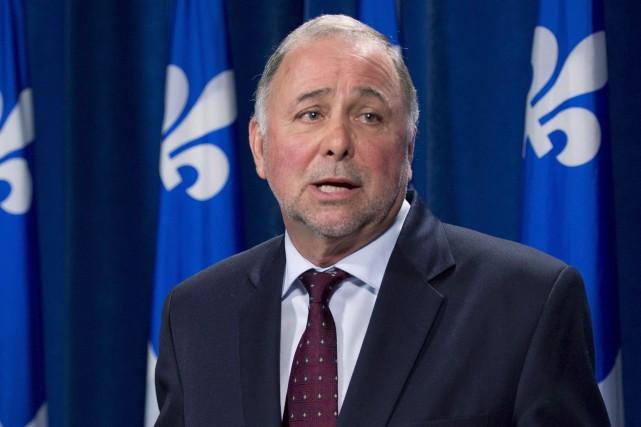 Le ministre de l'Agriculture du Québec Pierre Paradis... (Archives La Presse Canadienne)