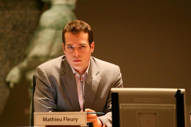 Le conseiller de Rideau-Vanier, Mathieu Fleury... (Archives, LeDroit)