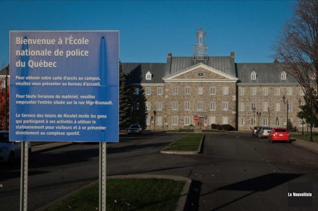 L'École nationale de police à Nicolet et la... (Francois Gervais, Le Nouvelliste)