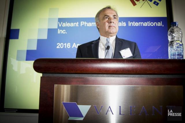 Joseph C. Papa, PDG de Valeant.... (Archives, La Presse)