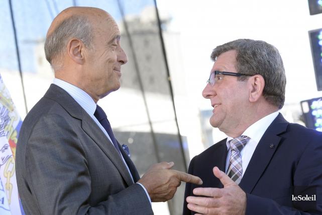Alain Juppé, l'actuel maire de Bordeaux, est un... (Photothèque Le Soleil, Jean-Marie Villeneuve)