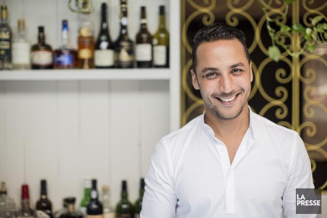 La nouvelle série Hakim Chajar : inspiration chef... (La Presse, Édouard Plante-Fréchette)