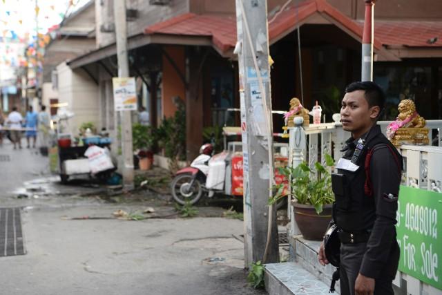 Une image tirée d'une vidéo diffusé sur un... (Photo MUNIR UZ ZAMAN, AFP)