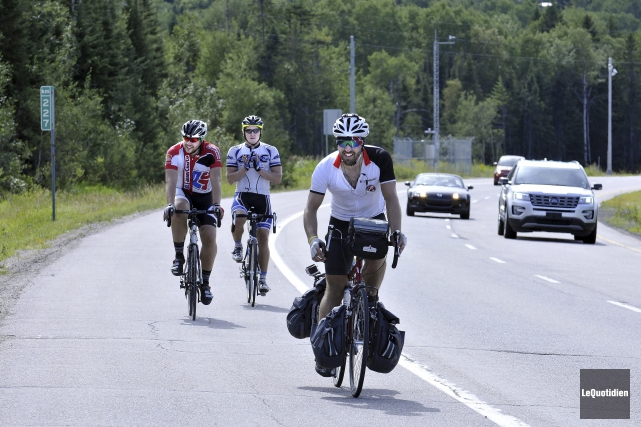 Gabriel Harvey a parcouru plus de 5000 kilomètres,... (Photo Le Quotidien, Rocket Lavoie)