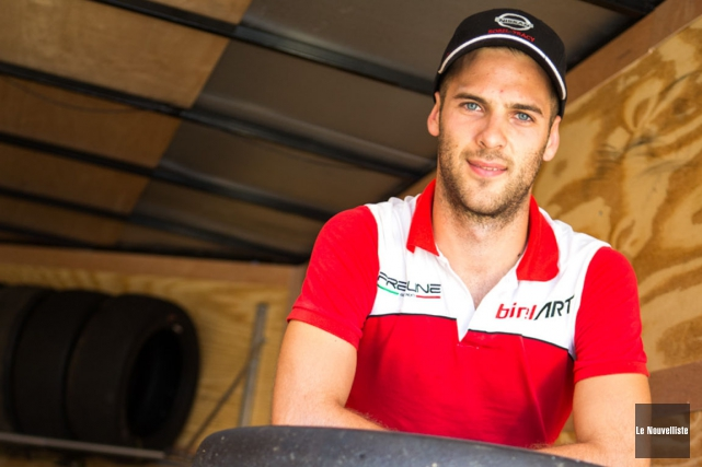 À sa deuxième participation au Grand Prix de... (Olivier Croteau, Le Nouvelliste)