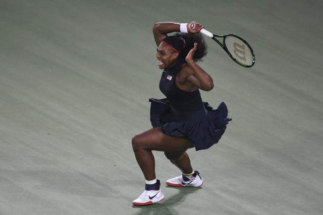 Serena Williams... (PHOTO LUIS ACOSTA, AFP)