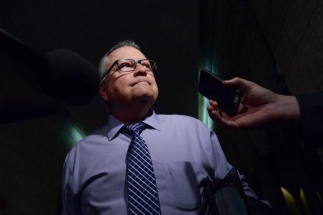 Dans un communiqué publié mercredi soir, le ministre... (Photo Sean Kilpatrick, archives La Presse Canadienne)