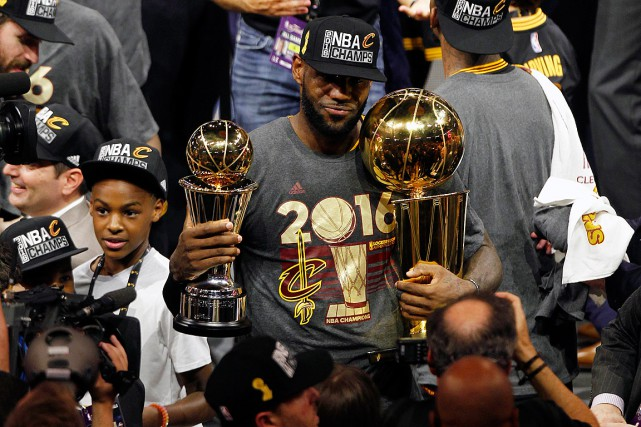 LeBron James a remporté le championnat de la... (PHOTO CARY EDMONDSON, ARCHIVES USA TODAY)
