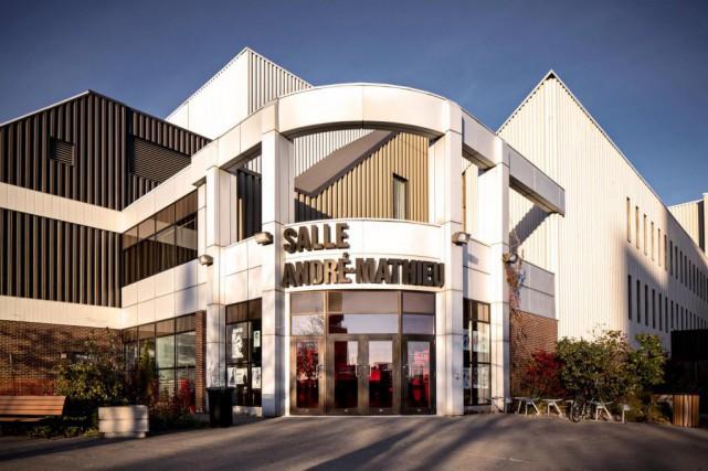 La salle André-Mathieu est située en face de... (Photo fournie par Tourisme Laval)