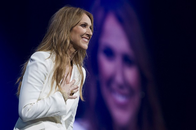 Celine Dion performs in concert at the Bell... (La Presse Canadienne, Graham Hugues)