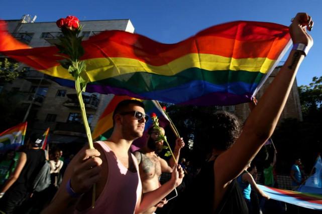 «On doit pouvoir parler d'homosexualité quand on le... (Photo GAli Tibbon, archives Agence France-Presse)
