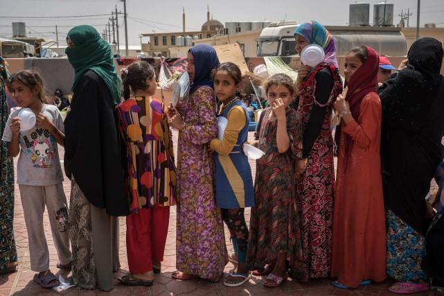 L'UNHCR a précisé par voie de communiqué que... (PHOTO Alice Martins, AP)