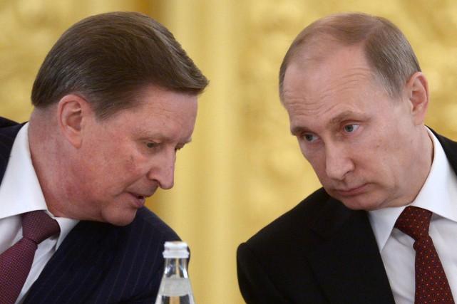 Sergueï Ivanovest considéré comme un très proche allié... (PHOTO ARCHIVES AP)
