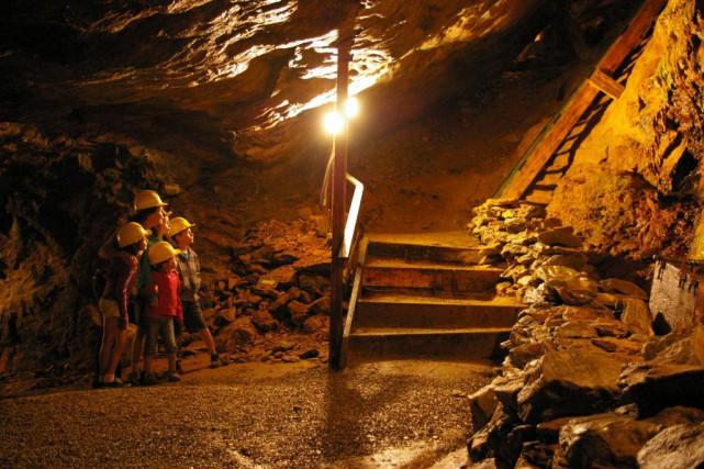 La mine désaffectée Capelton, près de Sherbrooke, compte... (Photo fournie par la mine Capelton)