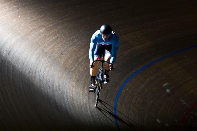 Hugo Barrette a découvert le vélo lorsqu'il était... (La Presse)
