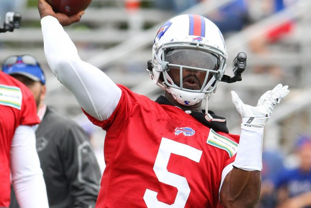 Tyrod Taylor... (PHOTO Bill Wippert, AP)