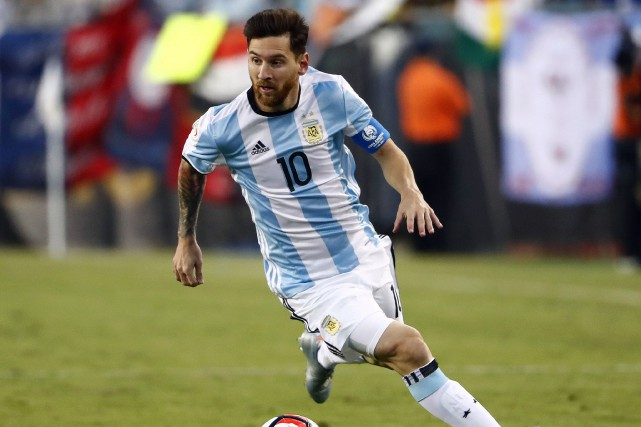 Lionel Messi... (Photo Winslow Townson, USA Today Sports)