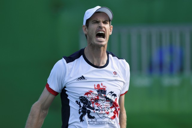 Andy Murray... (Photo Martin Bernetti, AFP)