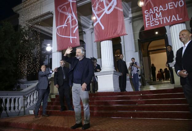 Robert De Niroa reçu le prestigieux prix Coeur... (PHOTO Dado Ruvic, REUTERS)