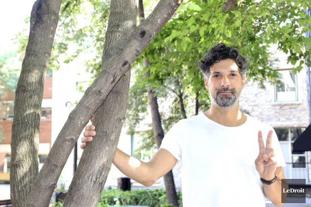 Rolf Klausener, directeur artistique du festival Arboretum... (Etienne Ranger, LeDroit)