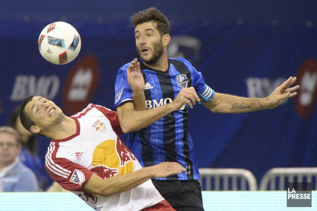L'Impact (8-5-9) et les Red Bulls de New... (Photo Bernard Brault, La Presse)