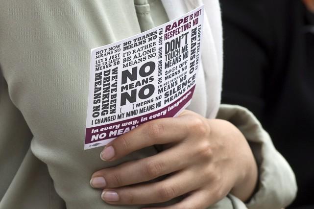 De nouvelles victimes de viols sur les campus ont dénoncé publiquement les... (Photo d'archives)