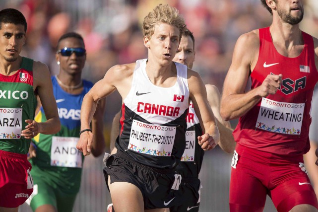 Charles Philibert-Thiboutot (au centre) sera en action mardi.... (Archives AFP)