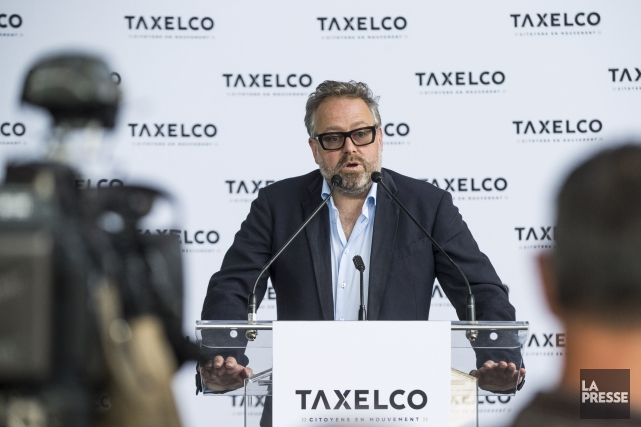 Alexandre Taillefer a assuré qu'il n'était pas le... (La Presse, Hugo-Sébastien Aubert)