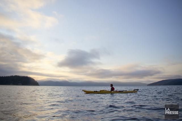 Les excursions en kayak au Cap Jaseux attirent... (Archives, La Presse)