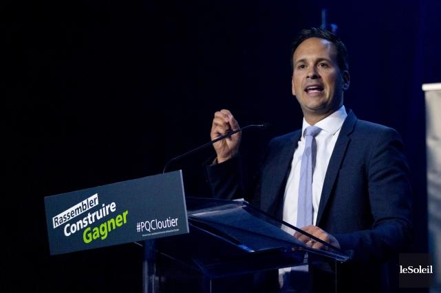 Le candidat à la chefferie du Parti québécois,... (Photothèque Le Soleil)