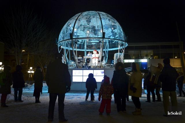 La Boule à neigeest une structure constituée d'une... (Photothèque Le Soleil, Yan Doublet)