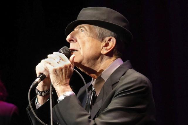 Leonard Cohen surtira son prochain albumaprès le 21... (AFP, Jemal Countess)