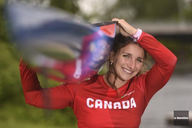 Andréanne Langlois sera à l'affiche du K1-200m lundi... (Le Nouvelliste, Francois Gervais)
