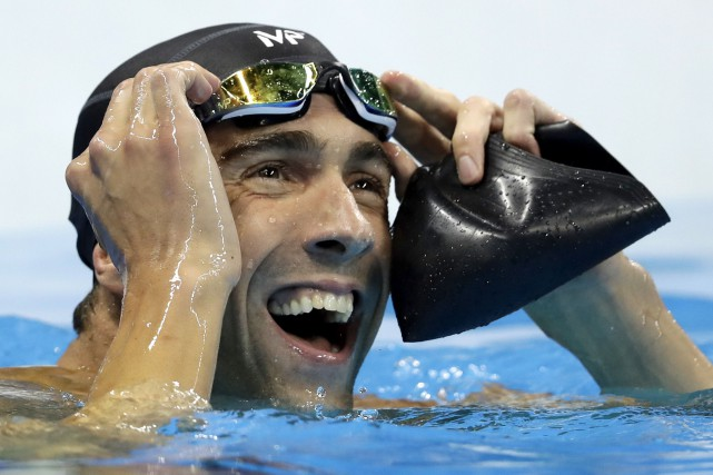 Même s'il a été battu, Michael Phelps a... (AP, Michael Sohn)