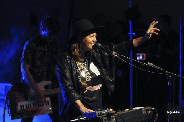 Ariane Moffatt a vite constaté, vendredi soir, que... (Photo Le Quotidien, Rocket Lavoie)