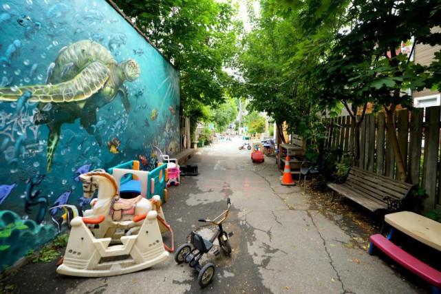 «Montréal s'était fixé comme objectif d'aider financièrement 4000... (PHOTO BERNARD BRAULT, ARCHIVES LA PRESSE)