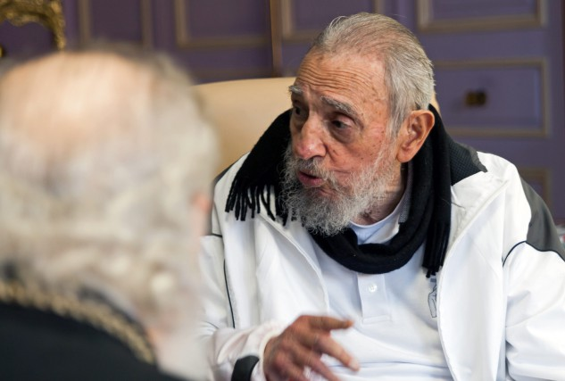 Fidel Castro... (PHOTO ARCHIVES AP)