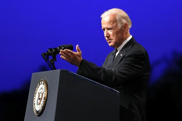 Le vice-président américain, Joe Biden... (PHOTO REUTERS)