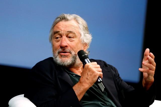 Robert De Niro affirme qu'«en langage cinématographique», les États-Unis ont... (PHOTO ARCHIVES REUTERS)