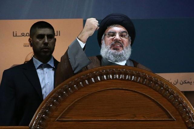 Hassan Nasrallah a indiqué que le candidat présidentiel... (PHOTO AP)