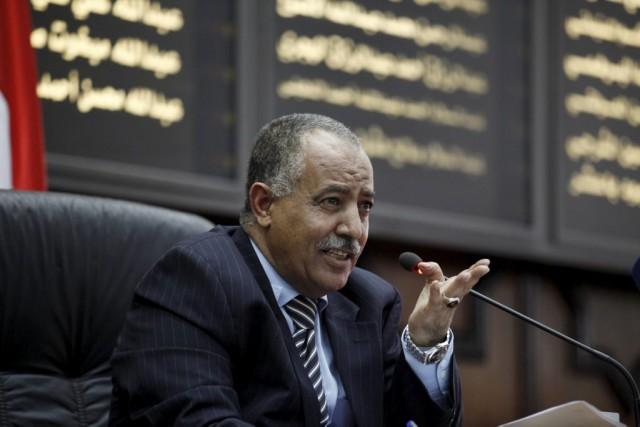Le président de la Chambre, Yahya al-Rai, a... (PHOTO KHALED ABDULLAH, REUTERS)