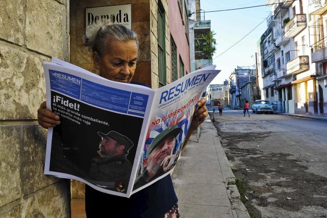 Dans un article intitulé «L'anniversaire» publié vendredi soir... (AFP, Yamil Lage)