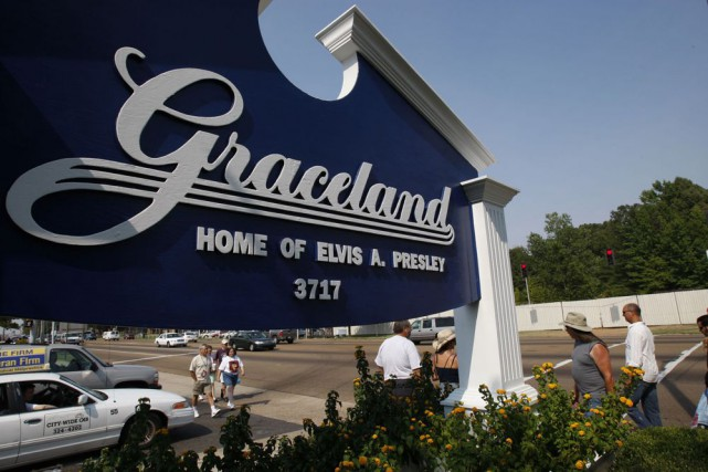 Graceland... (Photo: AFP)