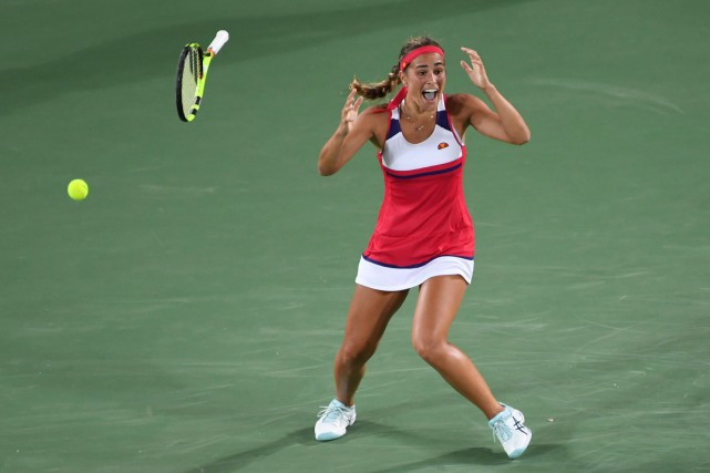 Monica Puig... (PHOTO Luis Acosta, AFP)