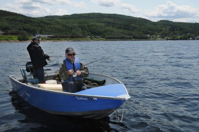 Le dossier de la pêche sportive dans le... (Archives Le Progrès-Dimanche, Michel Tremblay)