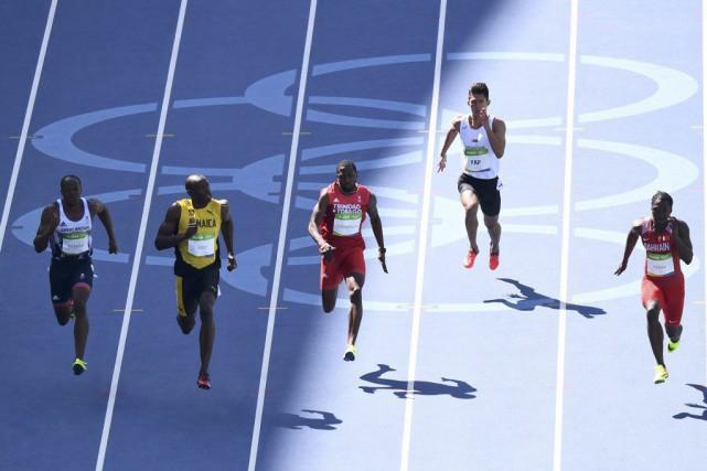 L'épreuve reine de l'athlétisme, le 100 m masculin,... (PHOTO DYLAN MARTINEZ, REUTERS)