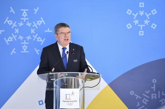 Le Comité international olympique - dont on voit... (AFP, Leon NEAL)