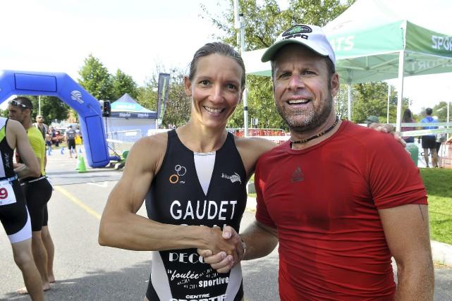 Originaire d'Alma, Annie-Claude Gaudet a dominé au triathlon... (Photo Le Progrès-Dimanche, Rocket Lavoie)